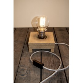 Lampe à poser 'Genius light silver'