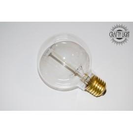 Ampoule boule vintage à filament