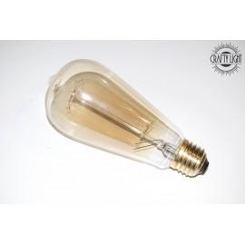 Ampoule type Edison à filament